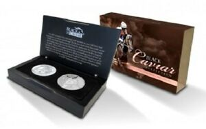 2013 BLACK CAVIAR 2 COIN SILVER PROOF SET