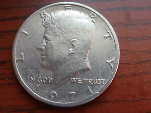 1971 P KENNEDY HALF DOLLAR COIN CIRCULATED