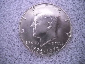 1976 D KENNEDY HALF DOLLAR COIN