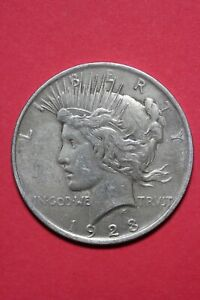 1923 P LIBERTY PEACE SILVER DOLLAR EXACT COIN SHOWN FLAT RATE SHIPPING TOM 322
