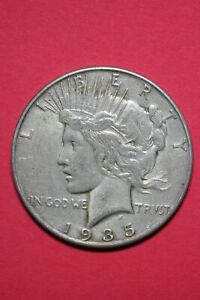 1935 P LIBERTY PEACE SILVER DOLLAR EXACT COIN SHOWN FLAT RATE SHIPPING TOM 343