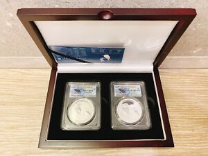 Click now to see the BUY IT NOW Price! 2017 AUSTRALIA SILVER 2 COIN KOOKABURRA SET MS/PR 70 PCGS  FS