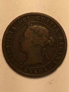 1892 CANADA LARGE CENT