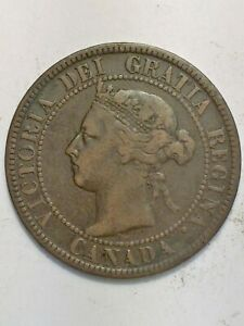 1899 CANADA LARGE CENT