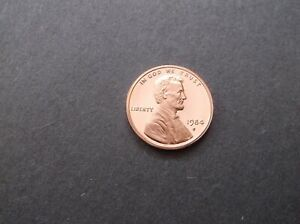 1984 S PROOF LINCOLN CENT UNCIRCULATED L191