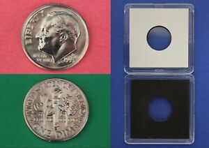 1993 D ROOSEVELT DIME WITH 2X2 CASE FROM MINT SETS COMBINED SHIPPING