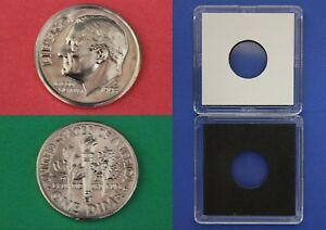 1995 D ROOSEVELT DIME WITH 2X2 CASE FROM MINT SETS COMBINED SHIPPING