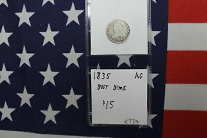 1835 CAPPED BUST DIME   ABOUT GOOD CONDITION  X734