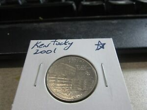 2001   KENTUCKY   USA   25 CENT   AMERICAN QUARTER