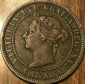 1900H CANADA LARGE CENT PENNY LARGE 1 CENT