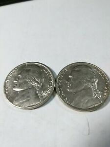 1982 P AND D CIRCULATED JEFFERSON NICKEL