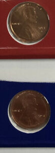 2013 P D  2  COIN SATIN PENNY SET FROM U.S. MINT CELLO CENT