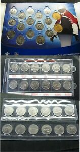 3  SETS OF CANADA COINS 1999  PROVINCES   1999 MONTHS 2010 OLYMPIC WINTER GAMES