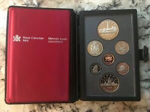 CANADA 1984 PROOF SET WITH TORONTO SESQUICENTENNIAL SILVER DOLLAR