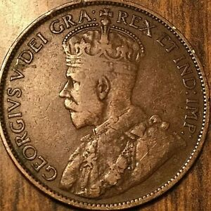 1913 CANADA LARGE CENT PENNY 1 CENT