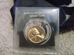 PENNY 1957 D BRILLIANT UNCIRCULATED WHEAT CENT
