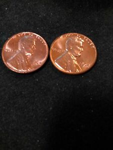 1964 P & D UNCIRCULATED LINCOLN CENTS