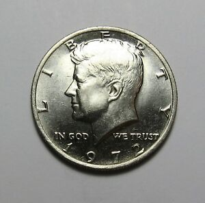 1972  KENNEDY HALF DOLLAR  FOR SET  CLAD  COMBINED SHIPPING DISCOUNTS  LOT T99