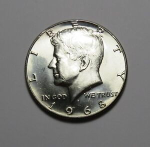1968 D KENNEDY HALF DOLLAR FOR SET  40  SILVER  COMBINED SHIPPING   LOT U01