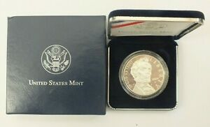 US MINT 2009 ABRAHAM LINCOLN COMMEMORATIVE PROOF SILVER DOLLAR