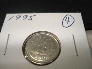 1995   CANADA   TEN CENT   CANADIAN DIME