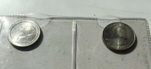 2013 D FORT MCHENRY MARYLAND NATIONAL PARKS QUARTERS 2 COINS UNCIRCULATED