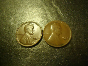 1932 D & 1935 D LINCOLN WHEAT CENT COINS      > FILL THAT ALBUM