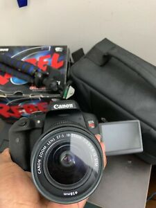 CANON EOS REBEL T6I 24.2MP DIGITAL SLR CAMERA   BLACK COMES WITH ALL YOU SEE