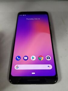 GOOGLE PIXEL 3 64GB BLACK G013A  UNLOCKED  ANDROID SMARTPHONE BD5191