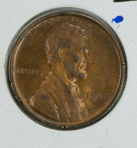 1910 LINCOLN WHEAT 1C CENT MS/BU DETAILS