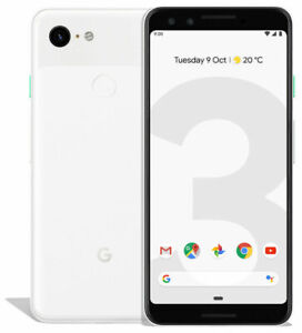 GOOGLE PIXEL 3   64GB   CLEARLY WHITE  UNLOCKED