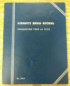 PARTIAL LIBERTY V NICKEL .05 SET 1883 1913 IN WHITMAN BOOK LOT 1 LHN