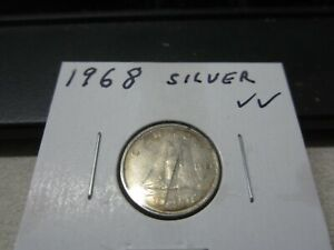 1968   CANADA 10 CENT   CANADIAN SILVER DIME
