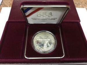 1988 US MINT OLYMPIC SILVER DOLLAR