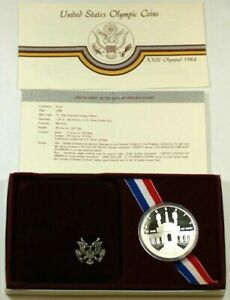1984 US MINT OLYMPIC SILVER DOLLAR