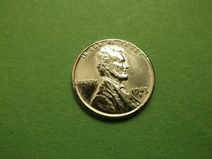 VERY NICE 1943 S LINCOLN CENT STEEL  155