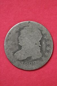 1833 CAPPED BUST DIME SILVER COIN EXACT COIN SHOWN LOW GRADE COIN OCE 27