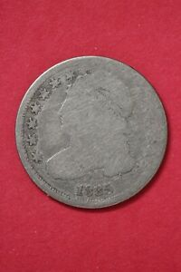 1835 CAPPED BUST DIME SILVER COIN EXACT COIN SHOWN LOW GRADE COIN OCE 01