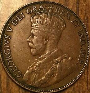 1920 NEWFOUNDLAND LARGE CENT COIN LARGE 1 CENT PENNY