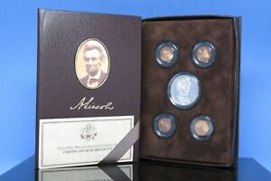 US MINT 2009 LINCOLN COIN & CHRONICLE 5 COIN PROOF SET ORIGINAL OWNER