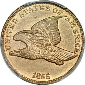 Click now to see the BUY IT NOW Price! 1856 1C FLYING EAGLE CENT PCGS MS64   CAC/PHOTO SEAL