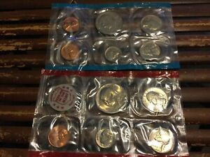 1971 US MINT UNCIRCULATED MINT SET 11 COINS US