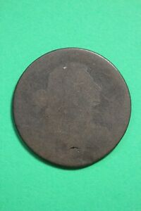 DATELESS DRAPED BUST LARGE CENT LOW GRADE EXACT COIN SHOWN FLAT RATE SHIP OCE 45