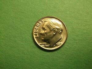 1980 P ROOSEVELT DIME UNCIRCULATED 197
