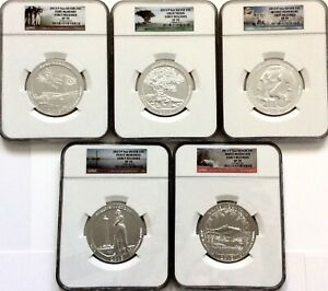 Click now to see the BUY IT NOW Price! 1 DAY SALE   2013 P 5 OZ AMERICA THE BEAUTIFUL 25C 5 COIN SET NGC SP70 ER W/ OGP