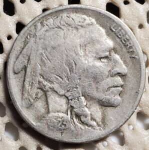 1923 S BUFFALO NICKEL 5 FIVE CENTS EARLY US TYPE
