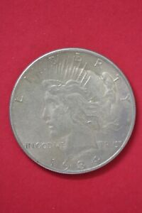 1934 P LIBERTY PEACE SILVER DOLLAR EXACT COIN SHOWN COMBINED SHIPPING OCE 70