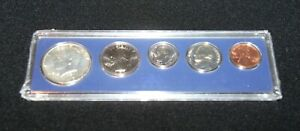 1967 UNITED STATES SPECIAL MINT SET HALF QUARTER DIME NICKEL PENNY SEALED CASE