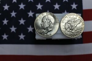 1977 P EISENHOWER DOLLAR ROLL   20 IKE DOLLARS   UNCIRCULATED