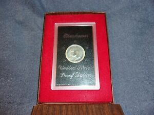 1974 MINT EISENHOWER UNITED STATES PROOF 40  SILVER DOLLAR COIN